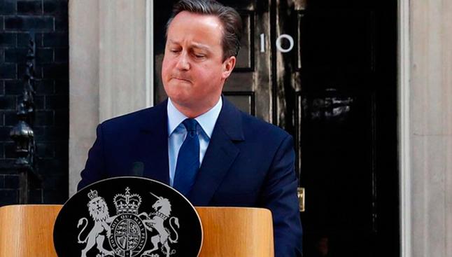 Primeiro-ministro britânico anuncia renúncia
