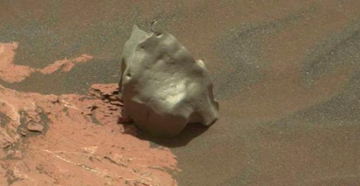 O estranho objeto encontrado pela Nasa em Marte