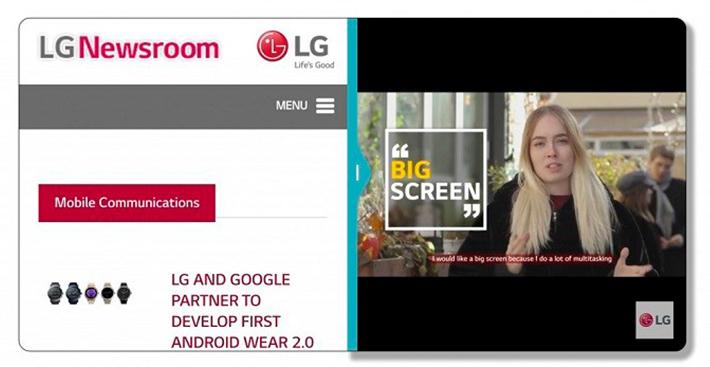 LG G6 aparece em teaser com display Full Video e nova interface do Android