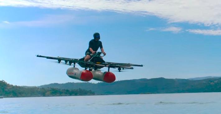 Confira o primeiro vídeo do 'veículo-elétrico-voador' do fundador da Google
