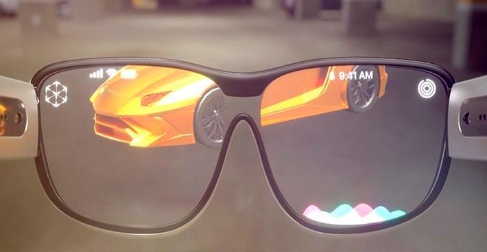 Como seriam os óculos de realidade aumentada da Apple?