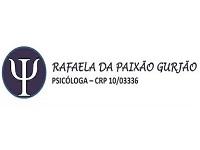 Psicóloga Rafaela Gusjão
