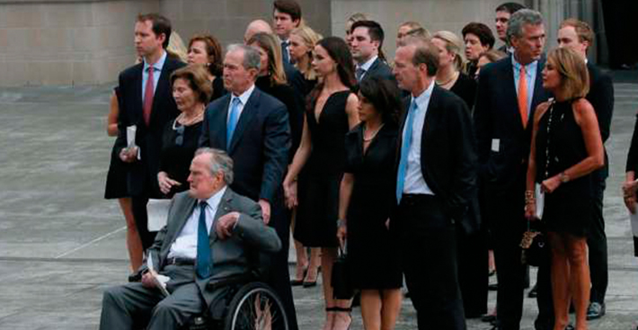 Ex-presidente dos EUA George H.W. Bush é internado