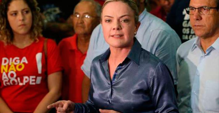 Após vídeo para TV árabe, Gleisi e Ana Amélia trocam acusações no Senado