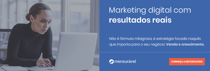 Anúncio: Mensurável Marketing Digital